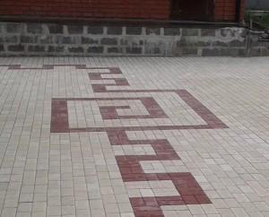 рисунок тротуарной плитки