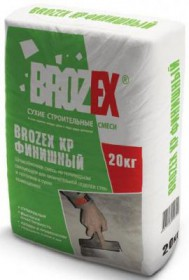 Шпатлевка Брозекс КР финишная, 20 кг.