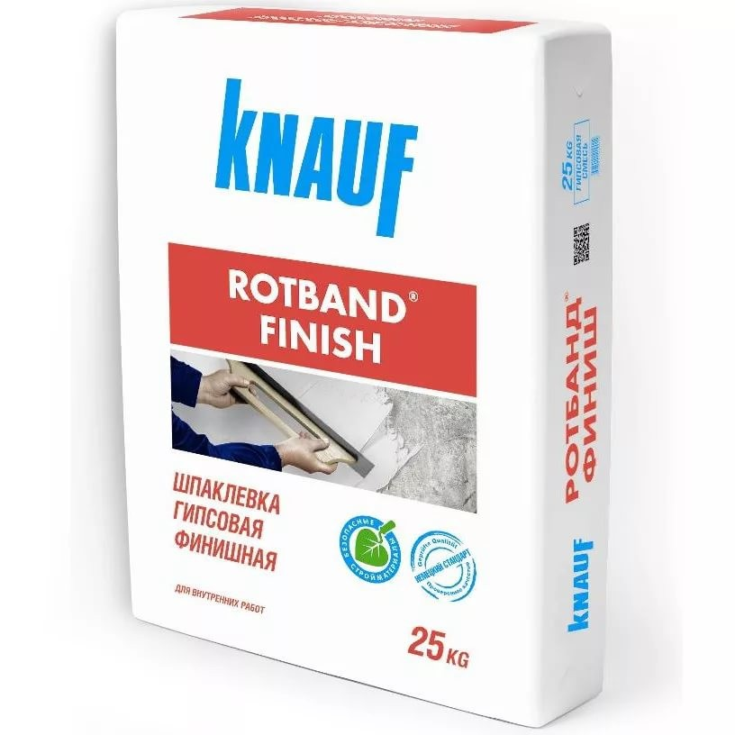Ротбанд-Финиш 25кг гипсовая шпаклевка